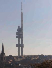 20 Žižkovský vysílač - Tower Park Praha