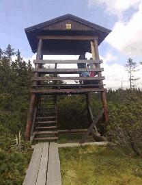 232 Vyhlídka Černohorské rašeliniště