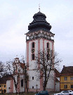 282 Věž kostela sv. Matěje v Bechyni