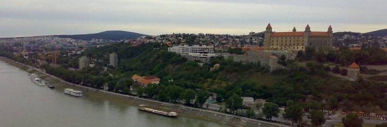 Bratislava - výhled z UFO