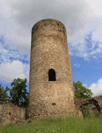 318 Věž hradu Dobronice