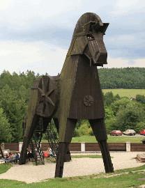 337 Trojský kůň na Bouzově