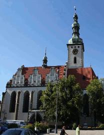 344 Věž kostela Proměnění Páně v Táboře