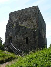 355 Věž hradu Vítkův Hrádek