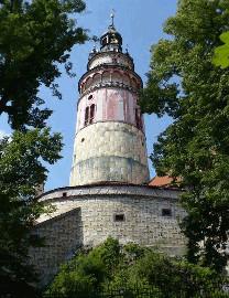 370 Věž zámku Český Krumlov