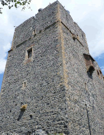 376 Věž hradu Radyně u Starého Plzence