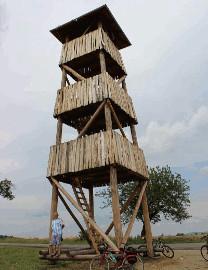 545 Vyhlídková věž archeoskanzen Modrá
